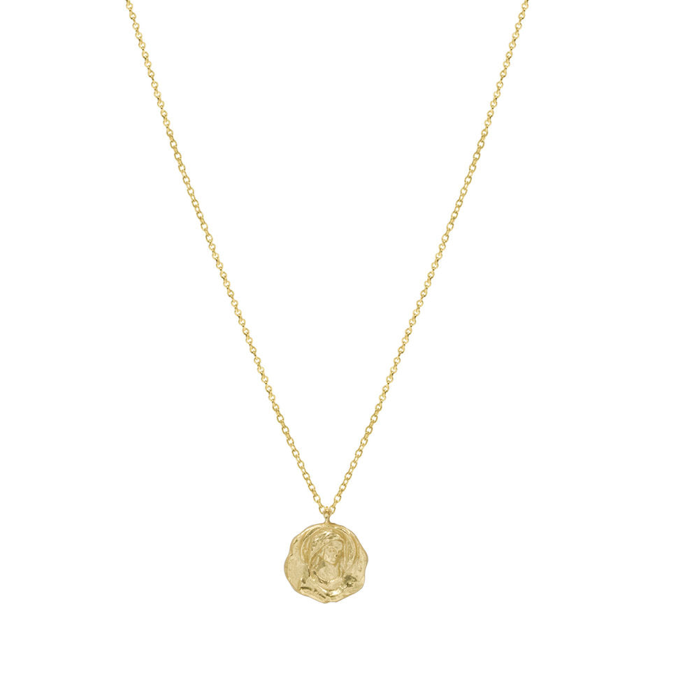 THE SINGLE MARY CUT PENDANT NECKLACE