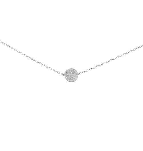 THE DAINTY DISC CHOKER