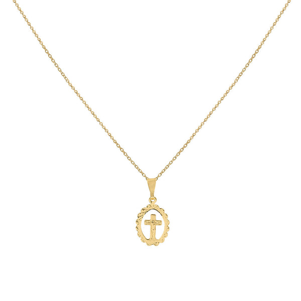 THE DELICATE CROSS NECKLACE