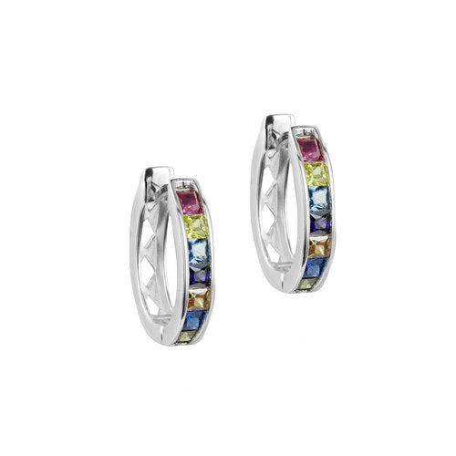 THE RAINBOW CHANNEL SET HOOPS