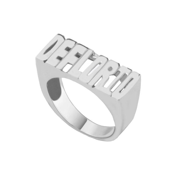 THE BLOCK NAME RING