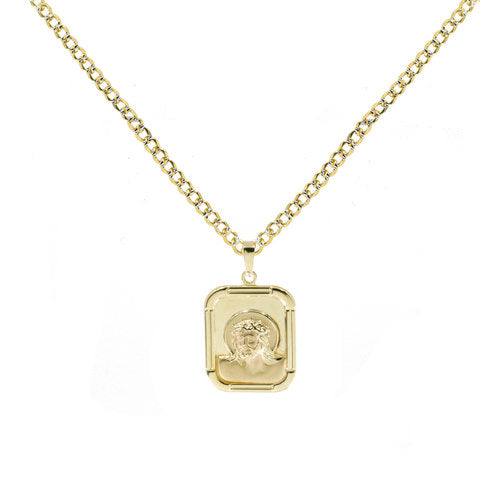 THE JESUS MEDAL NECKLACE
