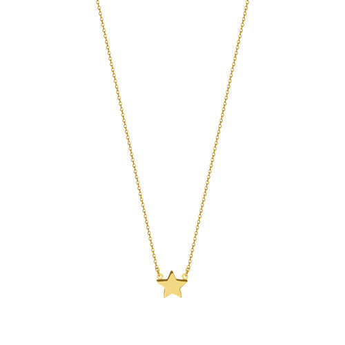 THE SINGLE STAR PENDANT NECKLACE