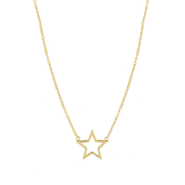 THE CUT-OUT STAR NECKLACE