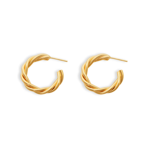 THE MID SIZE ZOYA HOOP EARRINGS
