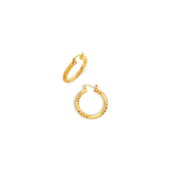 THE MERCER HOOP EARRINGS (SMALL)