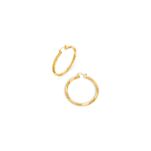 THE MERCER HOOP EARRINGS (LARGE)