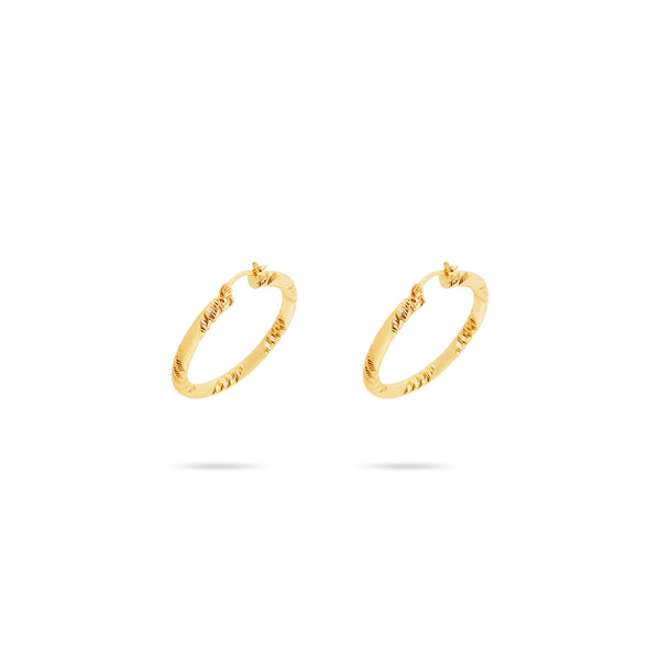 THE MERCER HOOP EARRINGS (MEDIUM)