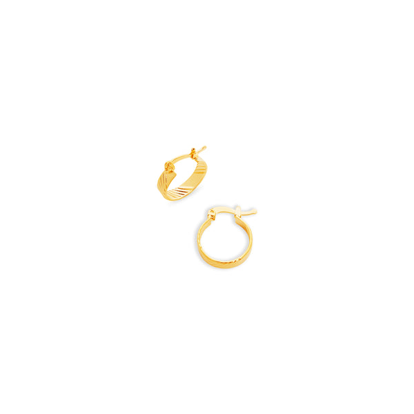 THE MIA ESSENTIAL HOOP EARRINGS