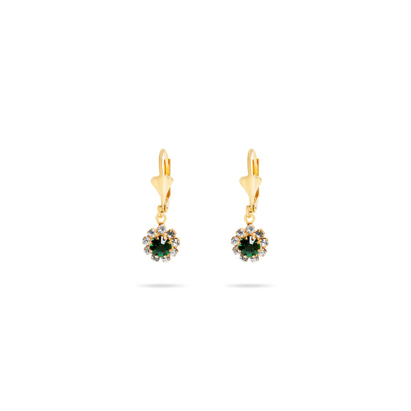 THE DEIS EMERALD EARRINGS