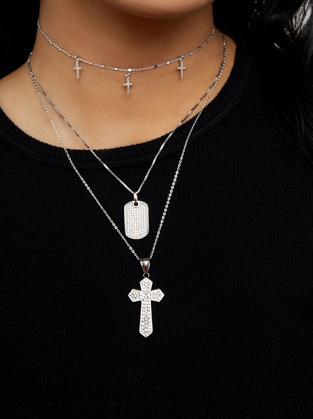 THE OXFORD CROSS NECKLACE