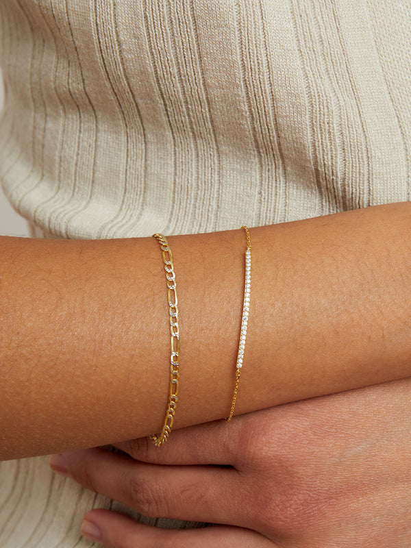 THE PAVE' ID BRACELET
