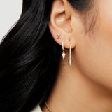 THE BARBWIRE STUD EARRING