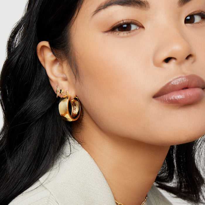THE IMALA HOOP EARRINGS