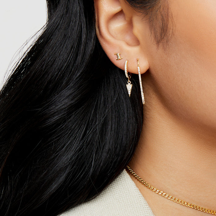 THE HANGING PAVE' ZOE EARRING