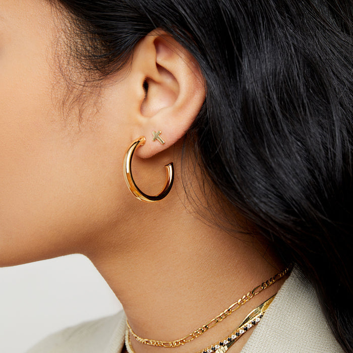 THE NATIEL ESSENTIAL HOOP EARRINGS