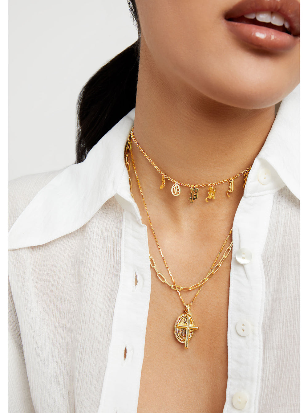 THE LAYERING REDA LINK CHAIN