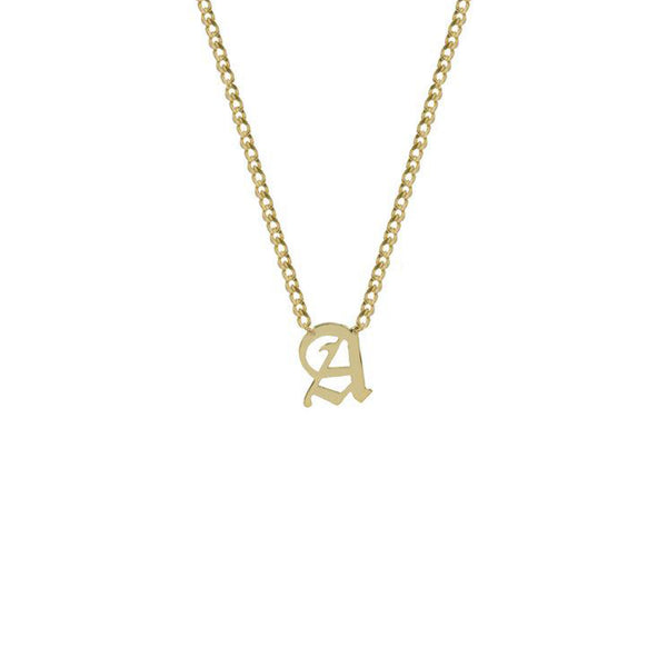 THE MINI CHOKER SINGLE LETTER (UPPERCASE)