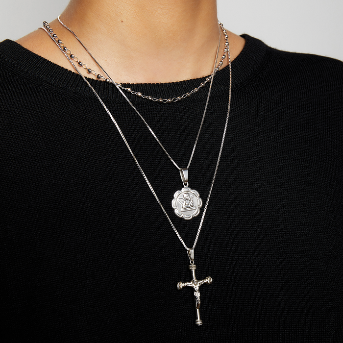THE CHRYSTIE ANGEL PENDANT NECKLACE