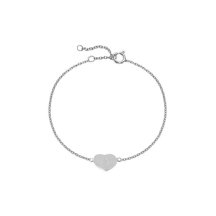THE BLOCK HEART BRACELET