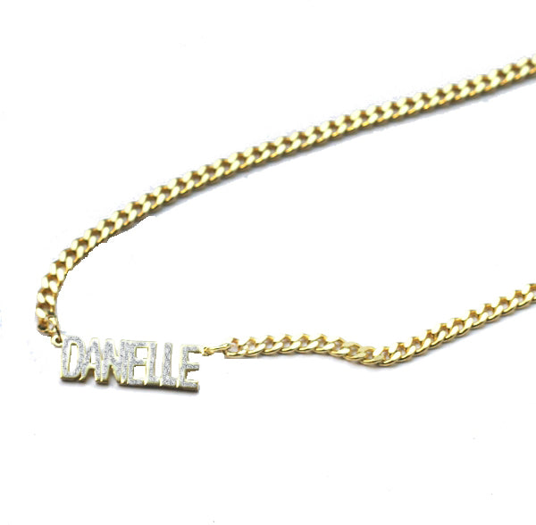 THE MINI CHOKER NECKLACE (GOLD/DIAMONDS)
