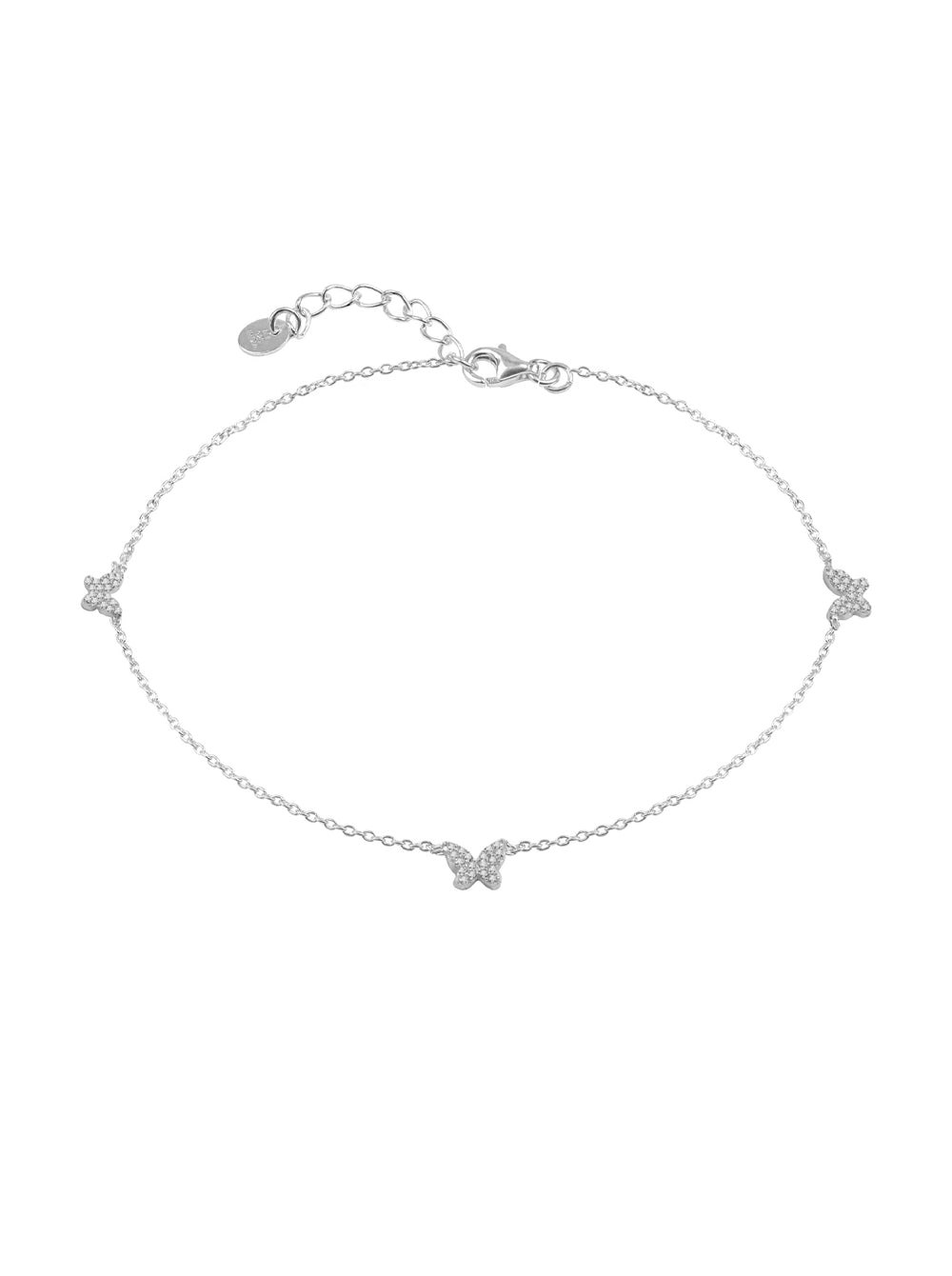 THE PAVE' BUTTERFLY ANKLET (CHAPTER II BY GREG YÜNA X THE M JEWELERS)