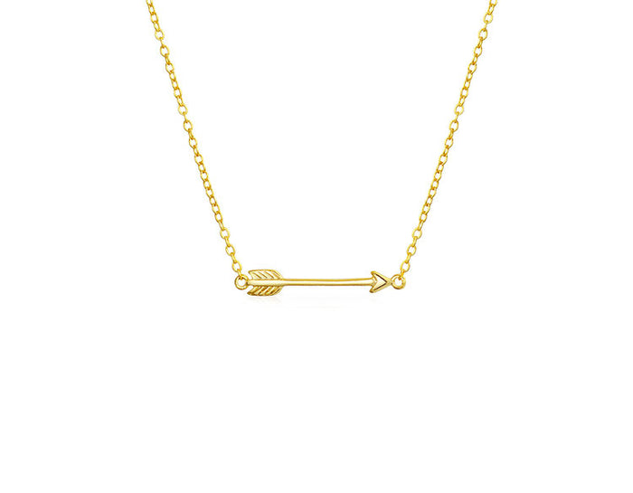 THE TINY ARROW NECKLACE