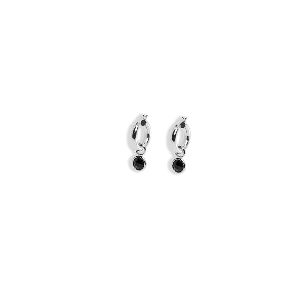 THE ELLEN ONYX DROP EARRING (ALEXANDER ROTH X THE M JEWELERS)