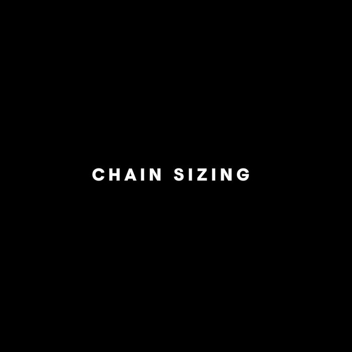 CHAIN SIZING