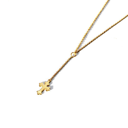 THE CROSS CHOKER DROP (DANIELLE GUIZIO X THE M JEWELERS)