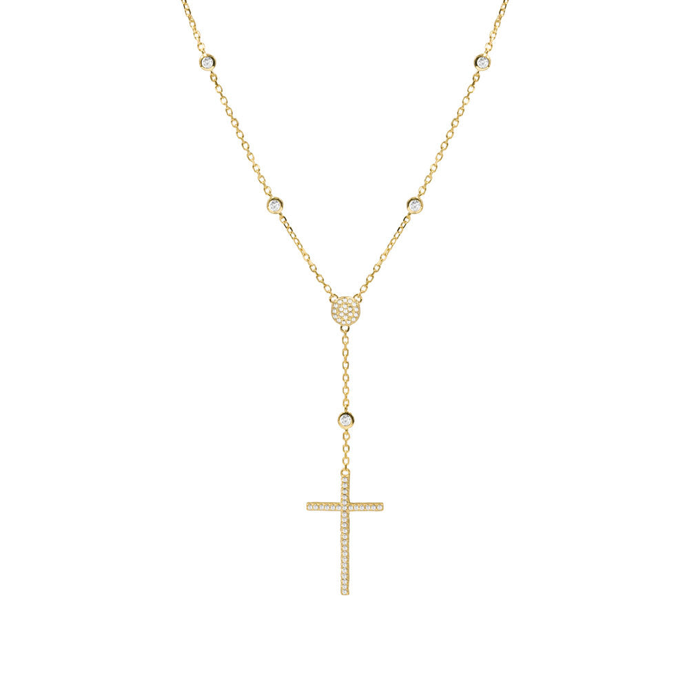 THE PAVE CROSS DROP