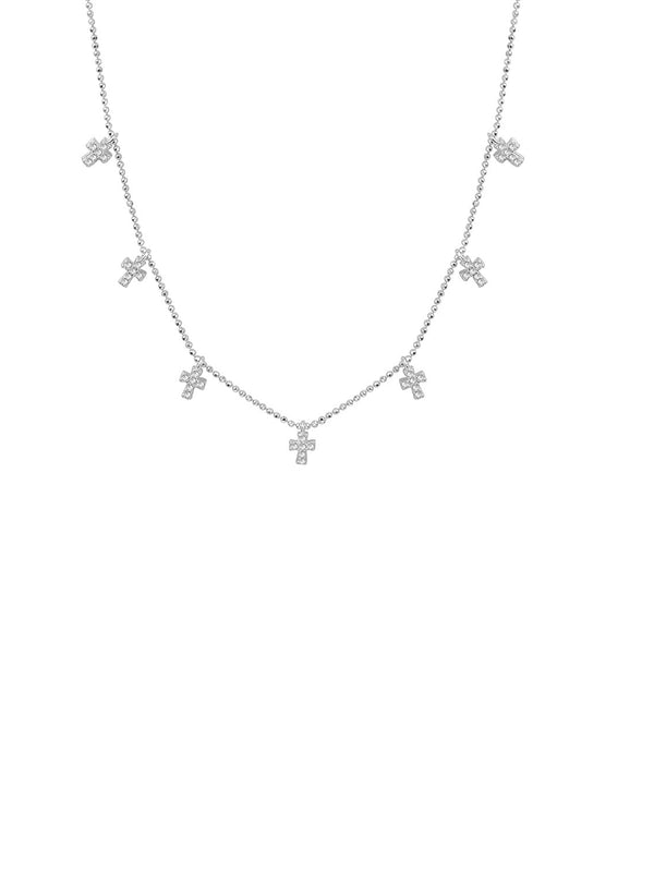 THE MULTI CROSS NECKLACE (CHAPTER II BY GREG YÜNA X THE M JEWELERS)