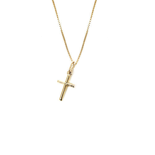 THE CROSS PENDANT NECKLACE