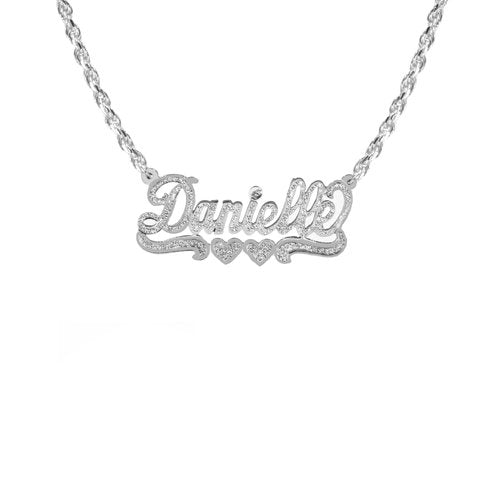 The M Jewelers Classic Nameplate Necklace