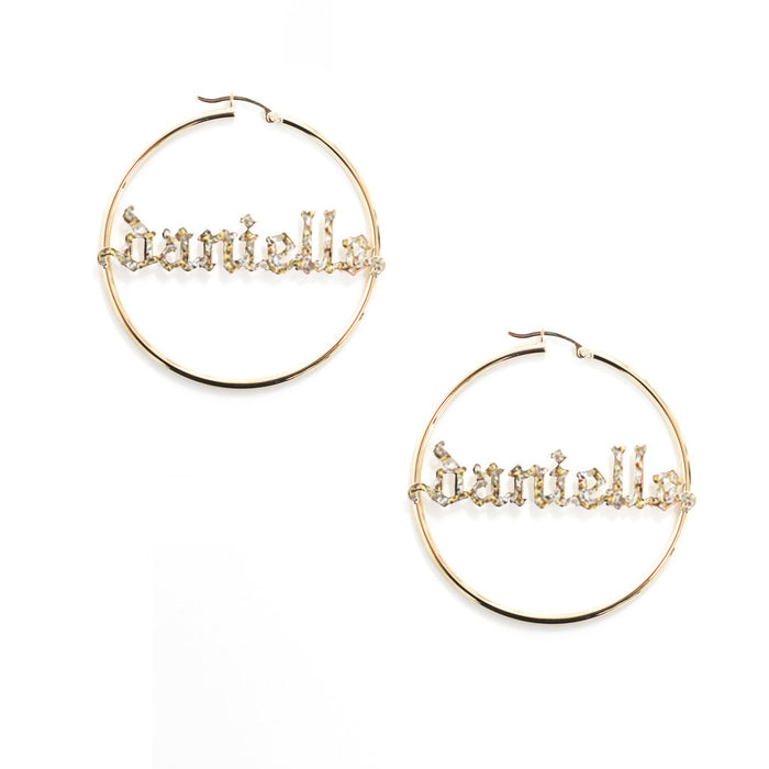 THE GOTHIC NAME HOOPS