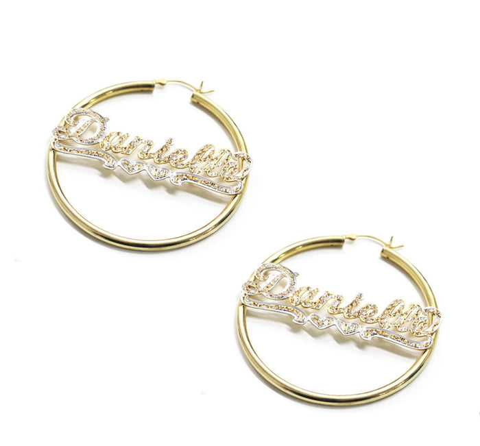 THE CUT NAME HOOPS