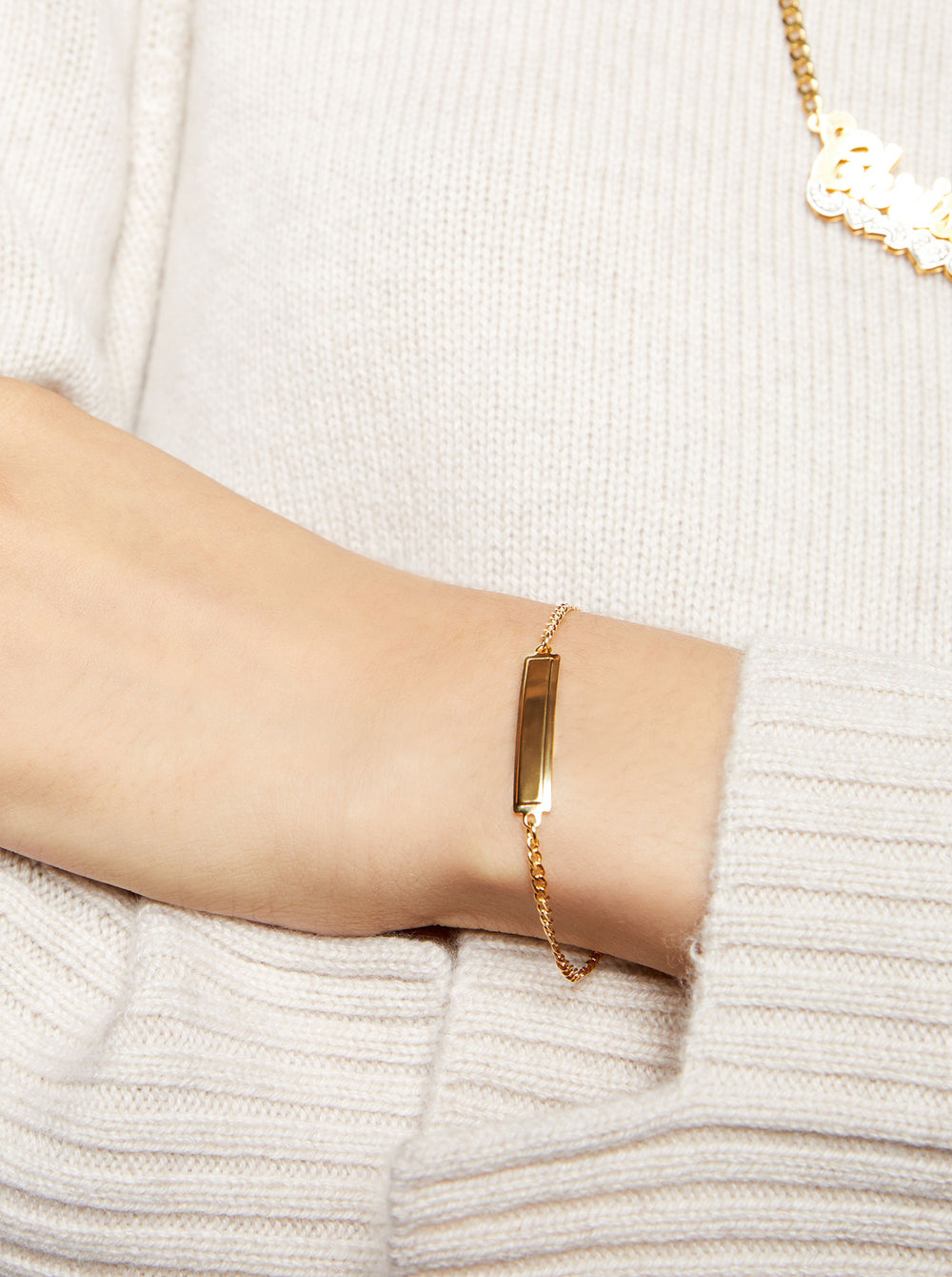 THE ESSENTIAL TINY ID BRACELET