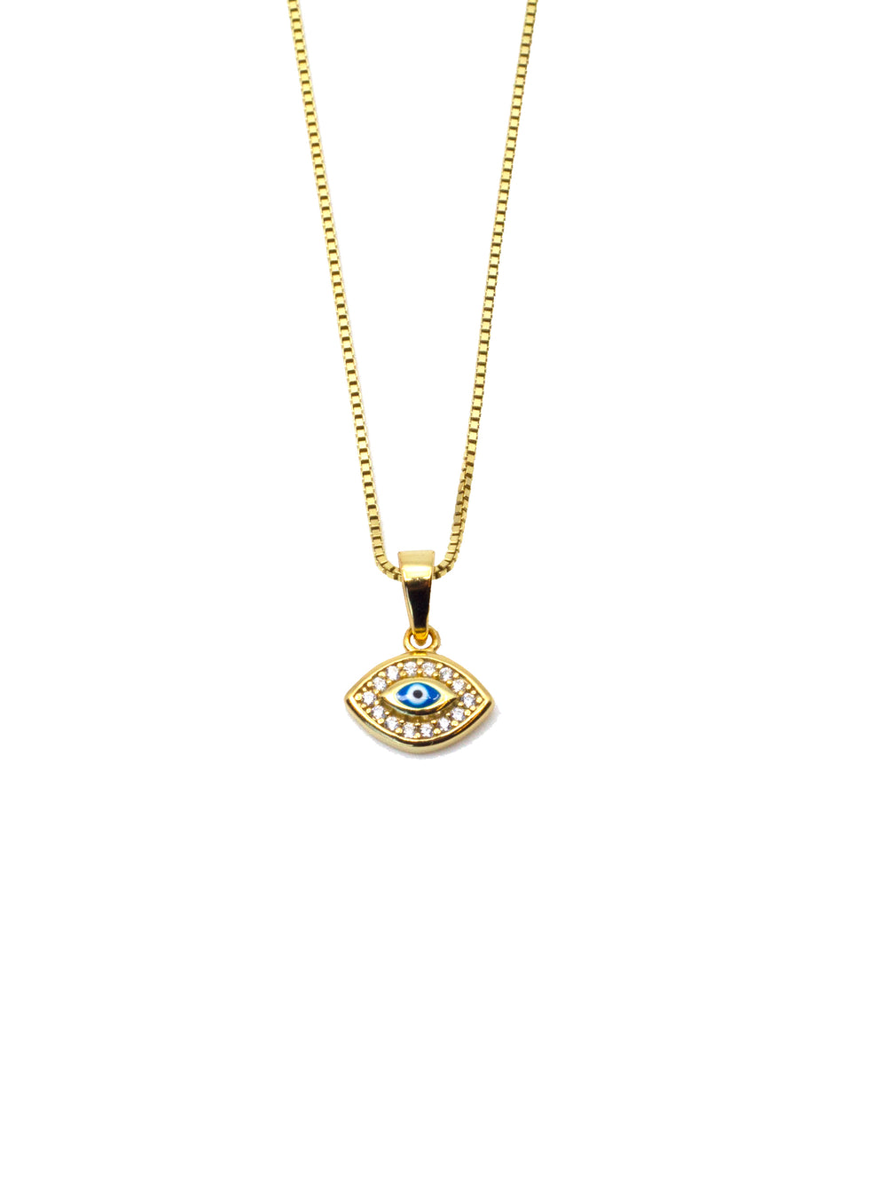 THE SINGLE EVIL EYE NECKLACE