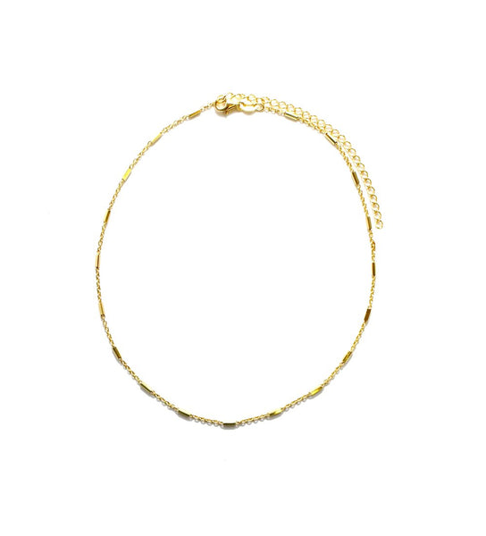 THE DAINTY MINI BAR CHOKER