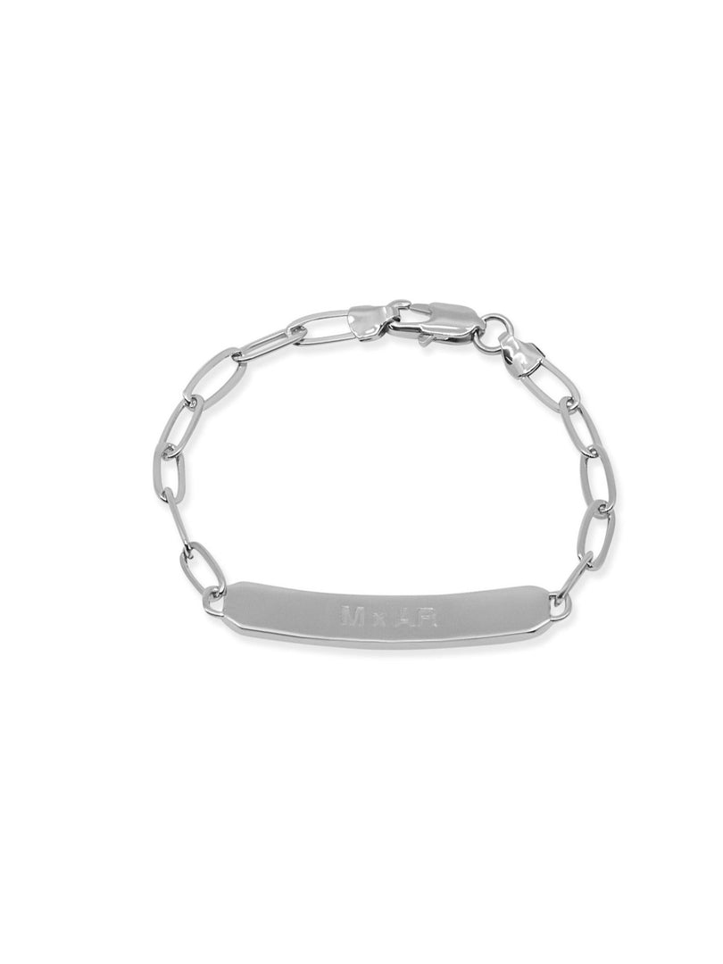 THE SAMUEL ID BRACELET (ALEXANDER ROTH X THE M JEWELERS)