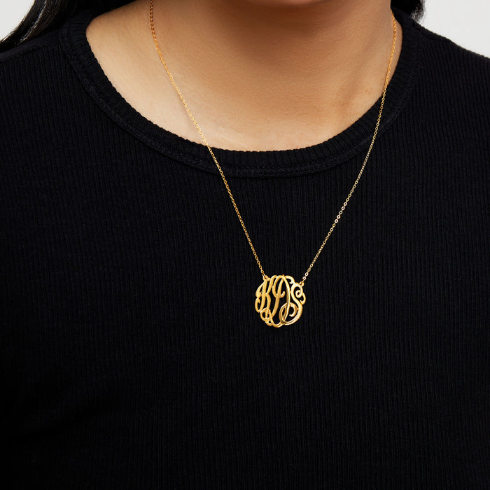THE MONOGRAM NECKLACE - SMALL