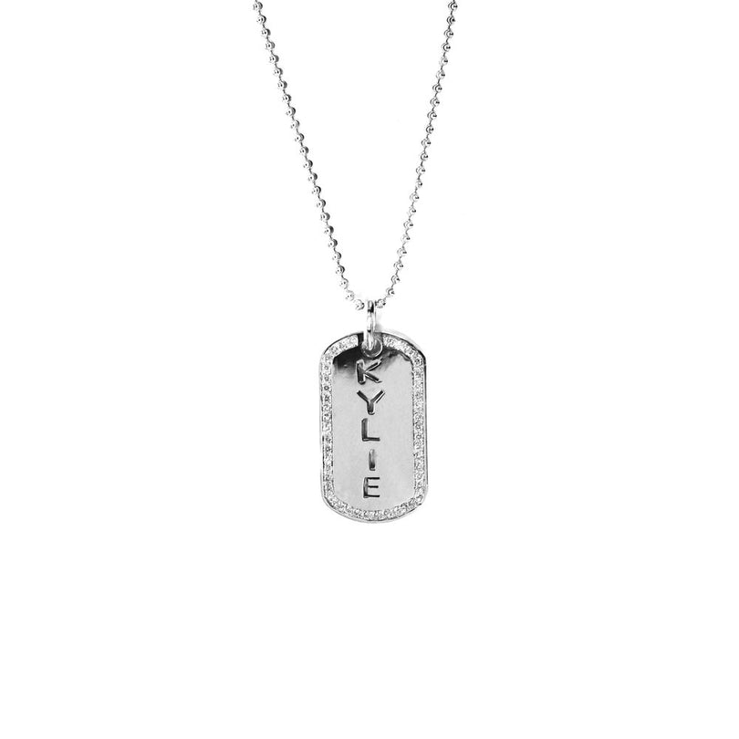 THE GOLD/DIAMOND DOG TAG