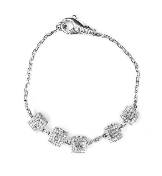 THE ICE BLOCK BRACELET (CHAPTER II BY GREG YÜNA X THE M JEWELERS)