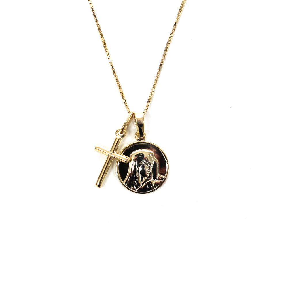 THE MEDAL CROSS NECKLACE