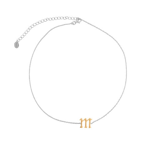 SINGLE LETTER CHOKER (LOWERCASE)