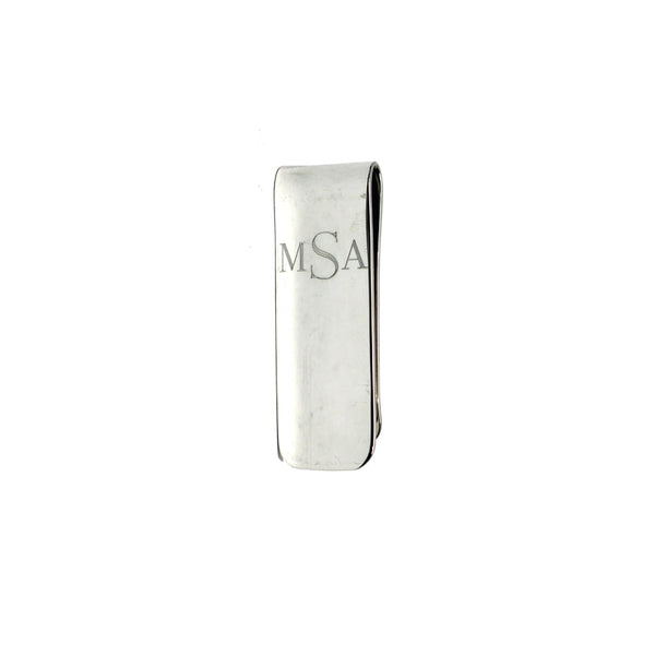 THE MONOGRAM MONEY CLIP
