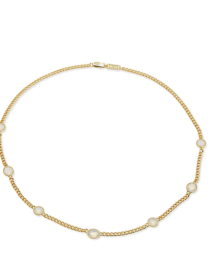 THE RUTH GOLD OPAL NECKLACE (ALEXANDER ROTH X THE M JEWELERS)