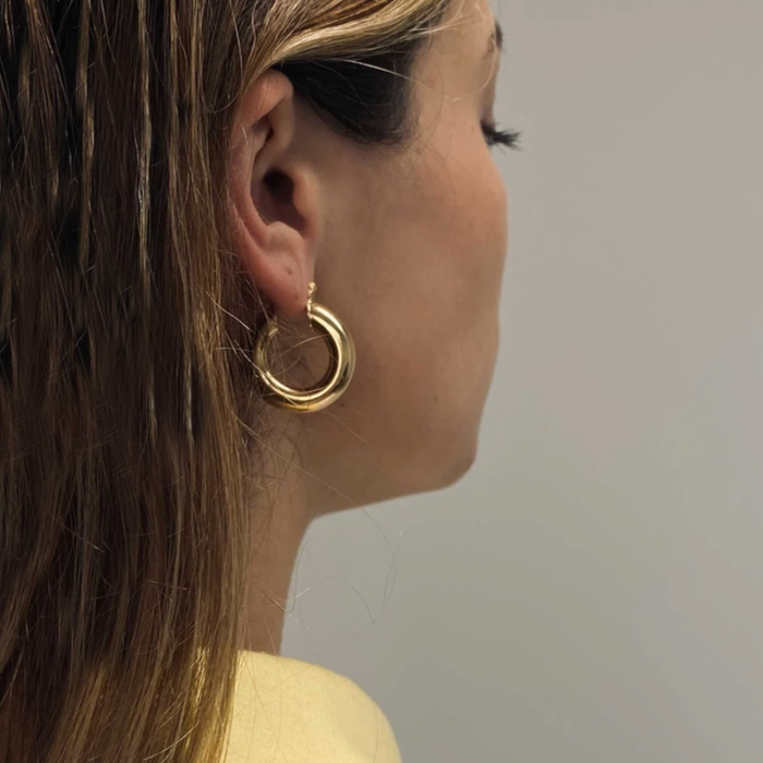 THE THICK RAVELLO HOOPS