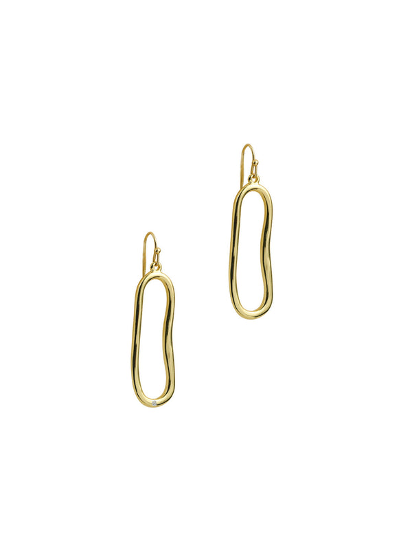 THE ONE STONE MILA HOOPS