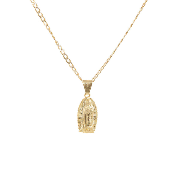 THE OUR LADY PENDANT NECKLACE (MENS)
